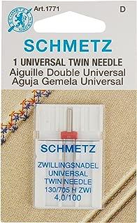 Schmetz Twin Machine Needle Size 4.0mm/100 1ct