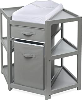 Best corner changing table grey Reviews