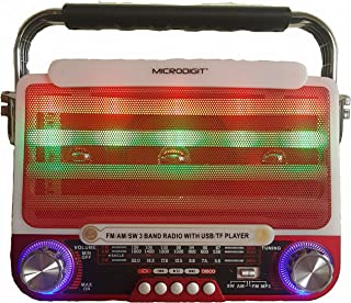 Smart radio and MP3 player,red color