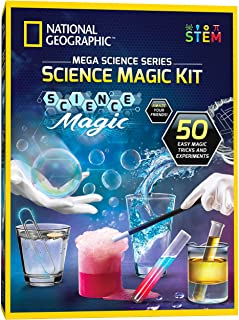 NATIONAL GEOGRAPHIC Science Magic Kit – Perform 20 Unique Science Experiments as..