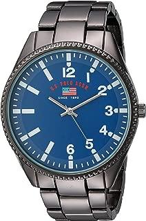 Men's Analog-Quartz Watch with Alloy Strap, Black, 10...