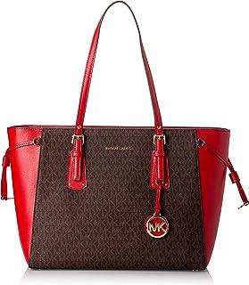 Michael Kors Womens 30f8gv6t8b Md Mf Tz Tote Medium Mf Tz Tote Bag (pack of 2)