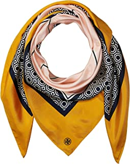Tory Burch - Octagon Silk Square Scarf