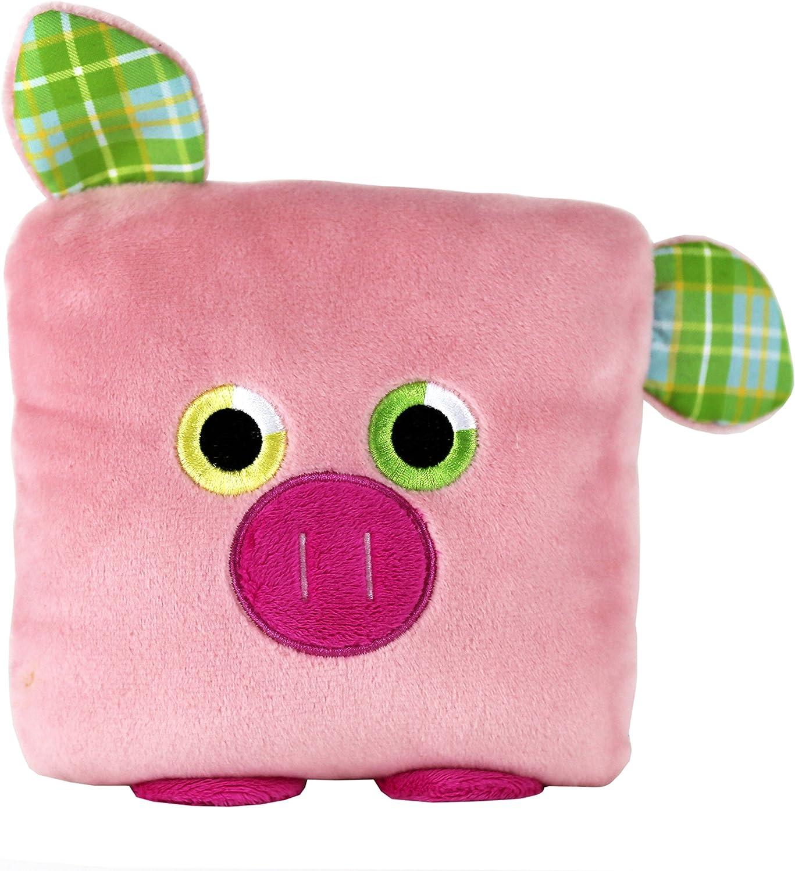 POKETTI Plushies with Pocket Powers Series2  Plush Toy Pig  Flynn The Pig