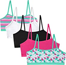 Simply Adorable Girls Training Bras Girls` 5-Pack Bralettes
