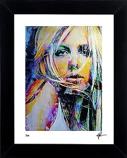 Britney Spears art print abstract modern artwork signed framed - 21