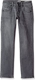 Volcom Big Boys' Vorta Slim Fit Stretch Denim Jean