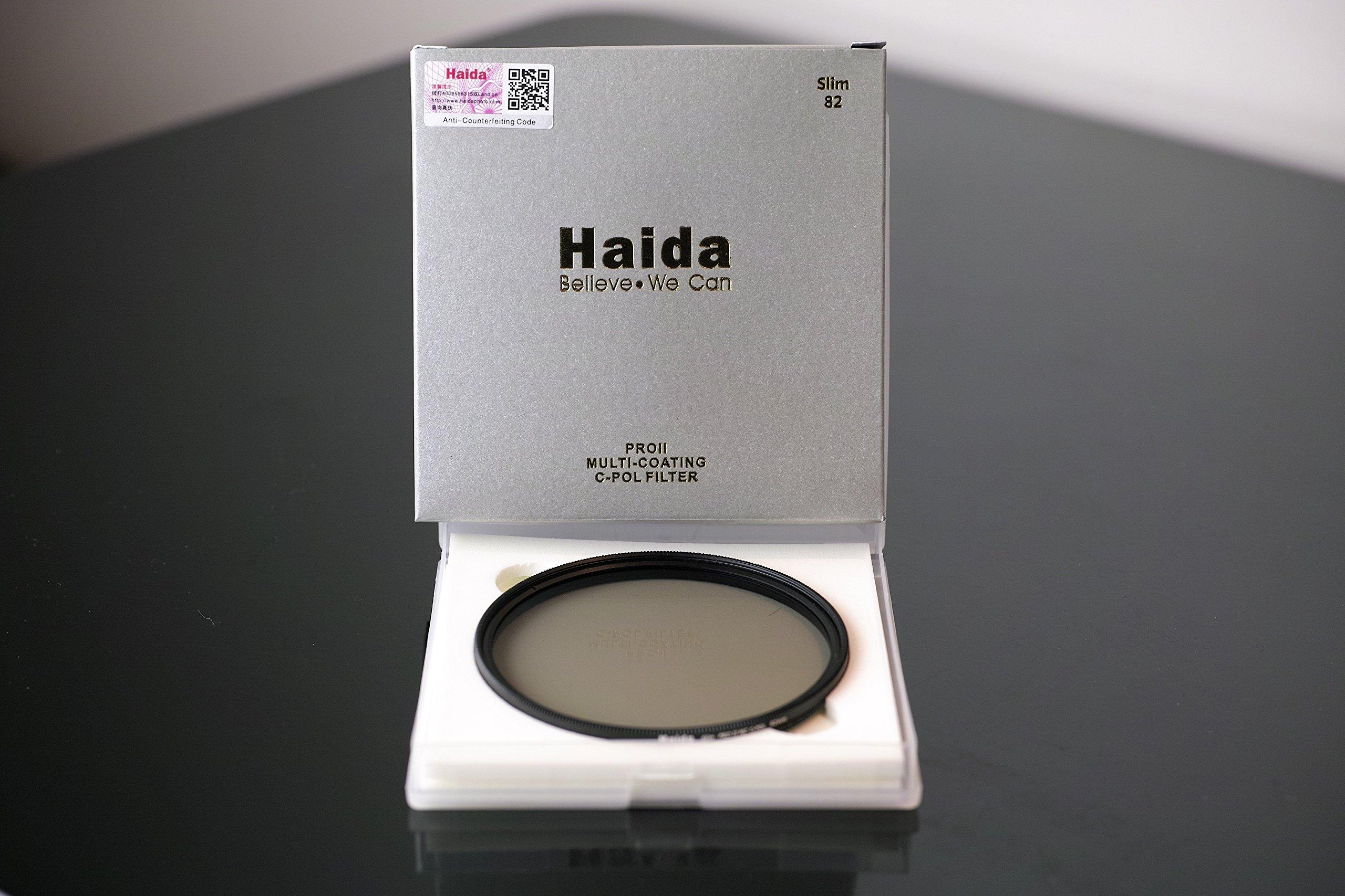 Nuevo Incluye Cap Slim Filtro Polarizador Circular 49 mm MC Digital de la nueva serie PRO II de HAIDA