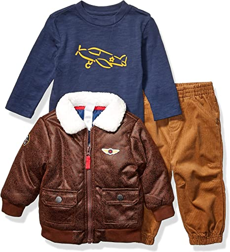 The Childrens Place baby-boys Baby and Toddler Warmcore Primaloft Varsity Bomber Jacket