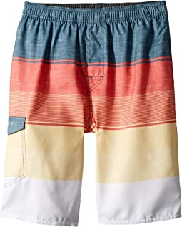 Good Vibes Volley Boardshorts (Big Kids)