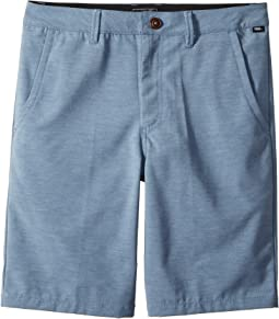 Vans Kids - Authentic Plush Decksider Boardshorts (Little Kids/Big Kids)