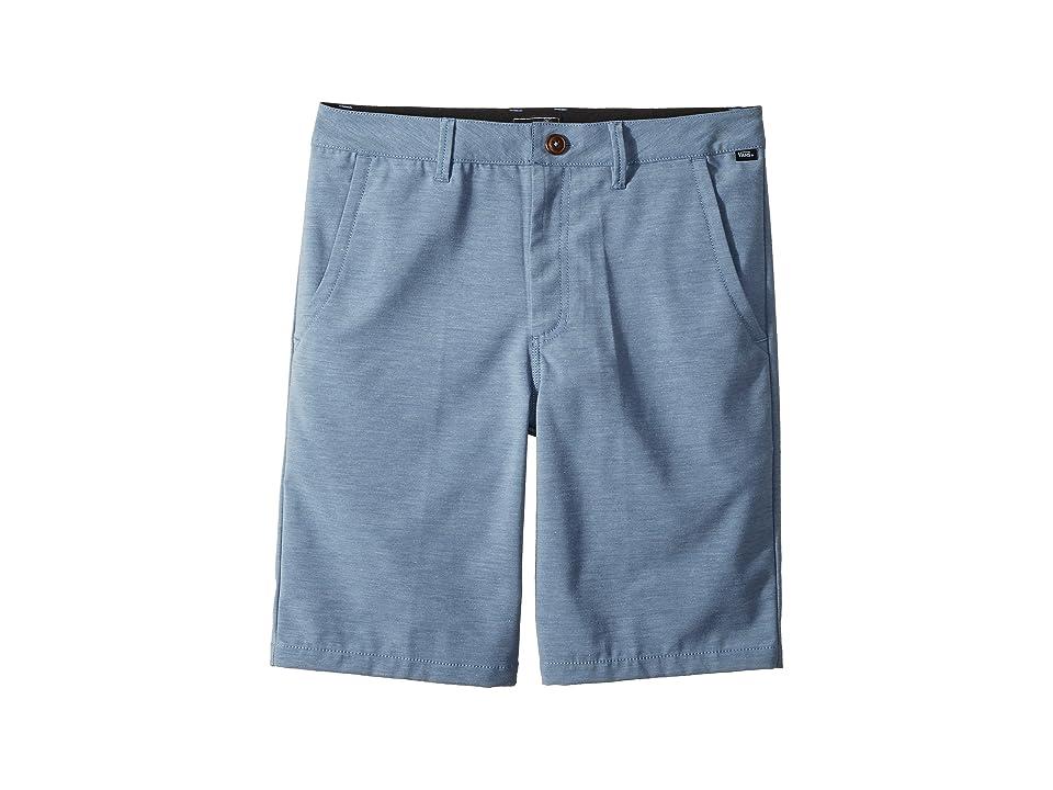 Vans Kids Authentic Plush Decksider Boardshorts (Little Kids/Big Kids) (Copen Blue) Boy