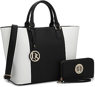 DASEIN Women s Handbags Purses Large Tote Shoulder Bag Top Handle Satchel  Bag for Work d9892f7625d0d