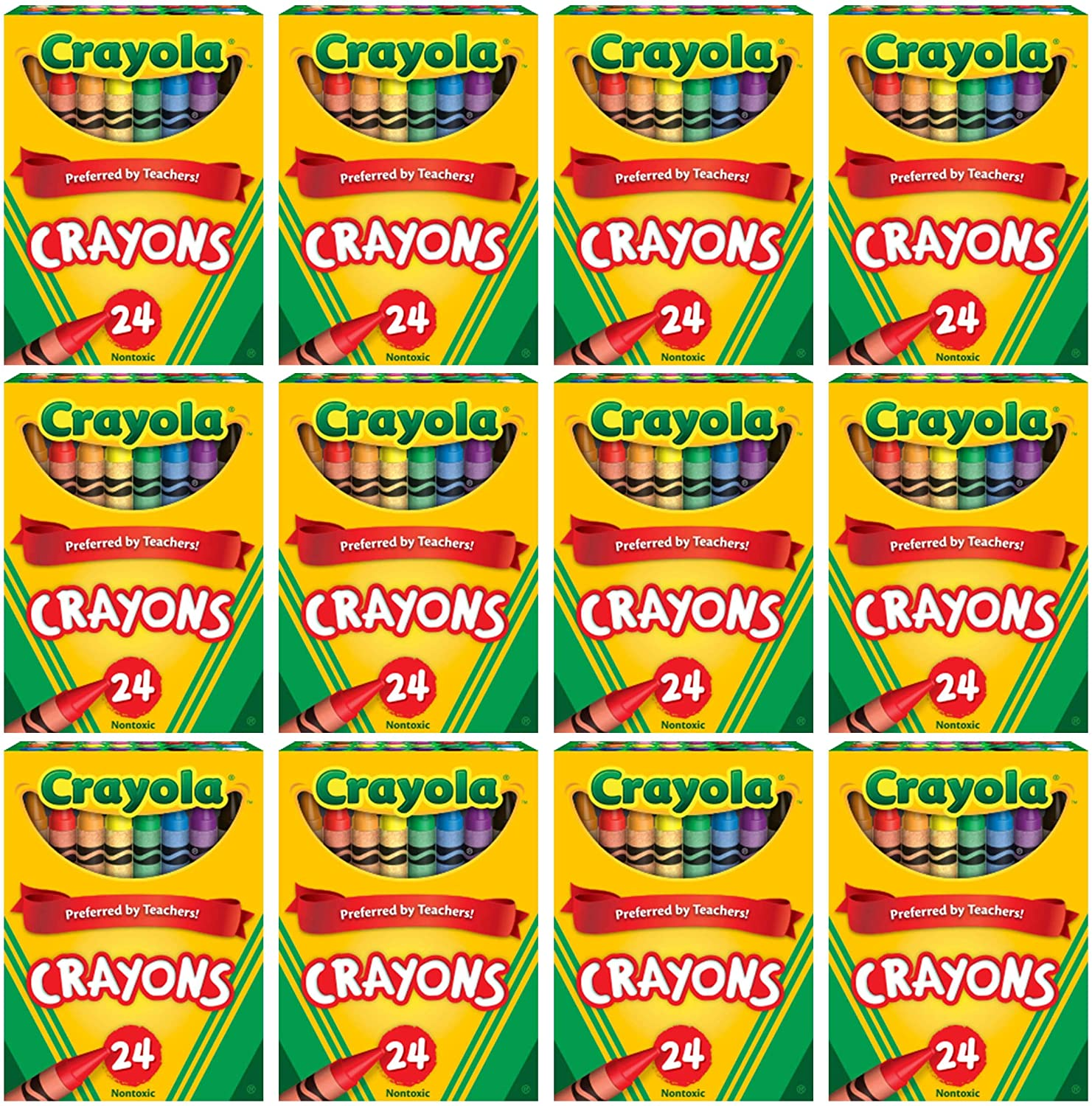 Crayola Colorado Springs Mall Popular shop is the lowest price challenge Crayons Bulk 12 Crayon Colors Assorted with Packs 24