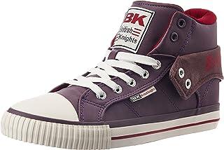 British Knights Women's Roco Dark Purple and Burgundy Sneakers