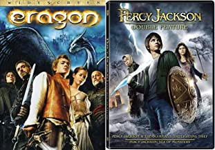 Literary Fantasy Young Adult 3-Movie Bundle - Percy Jackson & The Olympians: The Lightning Thief and Sea of Monsters & Eragon 3-DVD Set