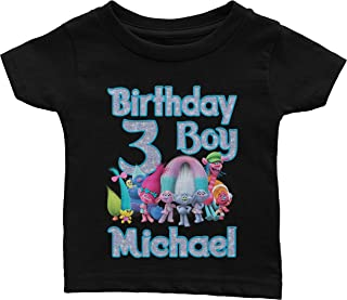 Personalized Birthday Shirt For Trolls Birthday Theme