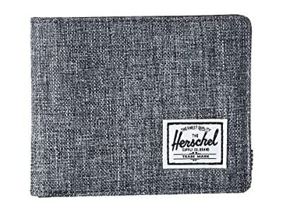 Herschel Supply Co. Hank RFID (Raven Crosshatch/Black Synthetic Leather) Wallet Handbags