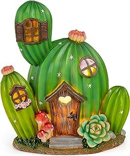 VP Home Enchanted Desert Dwelling Solar Powered LED Outdoor Decor Garden Light