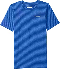 Columbia Kids - Cullman Crest Striped Tee (Little Kids/Big Kids)