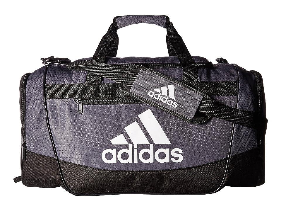 adidas Defender III Medium Duffel (Onix/Black/White) Bags