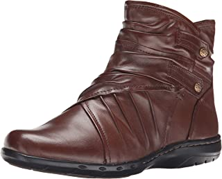 Rockport Cobb Hill Women's Pandora Boot,  Chocolate, 7.5 M US