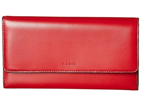 Under Lodis Luna Clutch RFID Rojo amp; amp; Audrey Monedero Lock Llave Accesorios UEdwC8qC