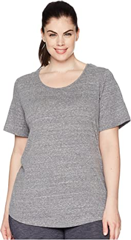 Plus Size Dharma Short Sleeve Top