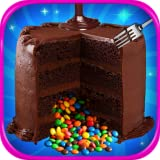 Chocolate Piñata Cake is a special cake that contains a rainbow of candy inside! Start by making the three cakes, and bake them in the oven. Take the cakes out of the oven, and place a hole in the center of the cake, and pour in the rainbow chocolate...