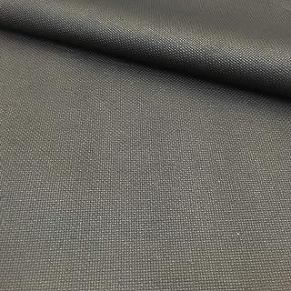 Delicatela Kreuzstich-Stoff, 75 cm x 50 cm, 5,5 Stiche/cm – 14 Counts/Zoll – 100 % Baumwolle – Farbe wählbar 75cm x 50cm Schwarz