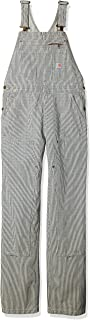 Carhartt Women's Brewster Double Front Railroad Striped Bib Overalls