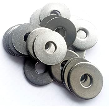 M6 X 20MM STAINLESS STEEL PENNY MUDGUARD WASHERS  A2 GRADE 304 REPAIR WASHER