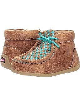 Slip Resistant, Woven M\u0026F Western Kids