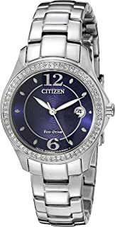 Watches Women's FE1140-86L Eco-Drive Silhouette Crystal