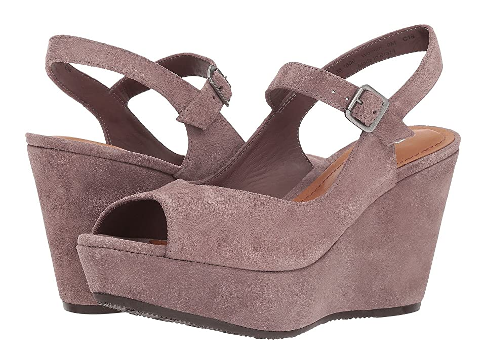 Trask Tessa (Blush Oiled Suede) Women