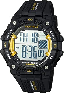 Armitron Sport Men's 40/8403 Digital Chronograph Resin Strap Watch