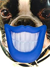Kseven Dog Mouth Toys, Big Lip Silicon Rubber Smile Teeth Toy for Pet Dogs with Squeak Squeaky Sound. Funniest Dog Play Toy. BLUE