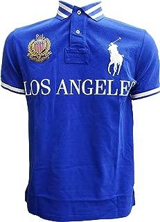 Mens Custom Slim Fit Mesh City Polo Shirt
