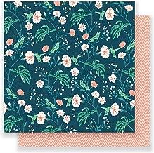 Maggie Holmes Flourish Patterned 12 x 12 Paper Hummingbird (25 Pack), Piece