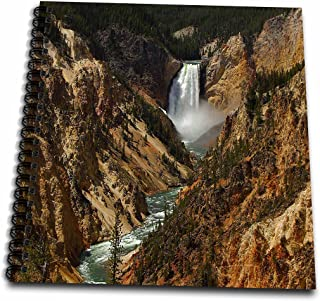 3dRose db_17296_2 Lower Falls Yellowstone National Park-Memory Book, 12 by 12-Inch