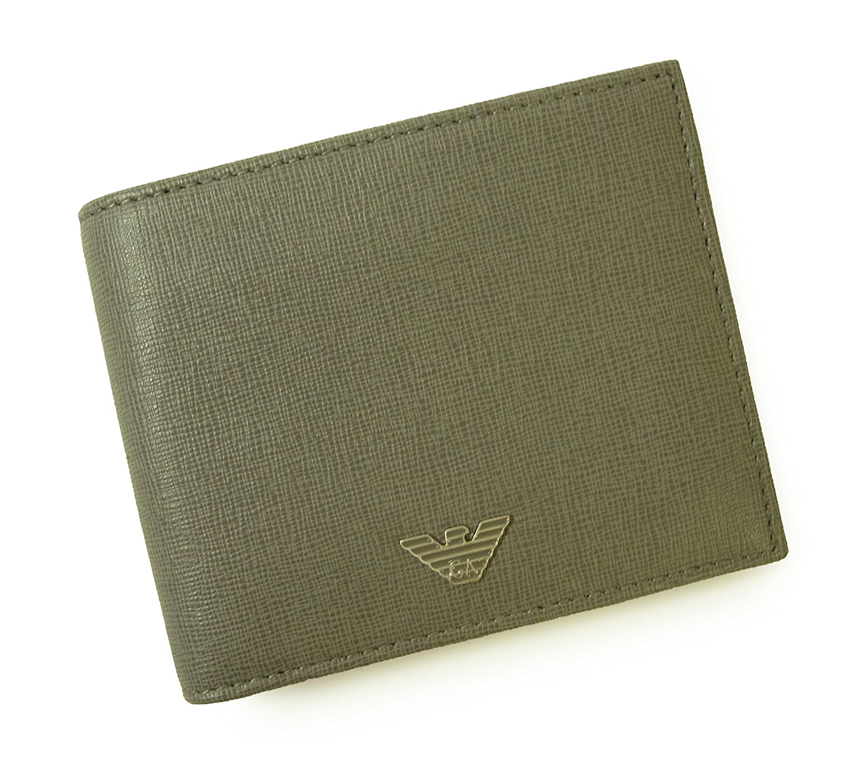 [アルマーニ] 財布 メンズ エンポリオアルマーニ 二つ折 (グレー) A-2045 [並行輸入品]