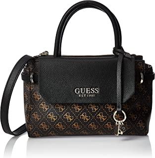 GUESS Womens Esme Satchel Handbag