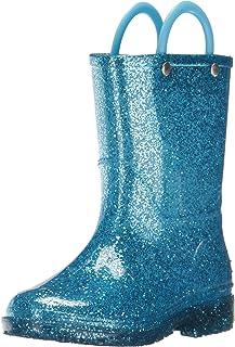 Western Chief Girl's Glitter Waterproof Rain Boot