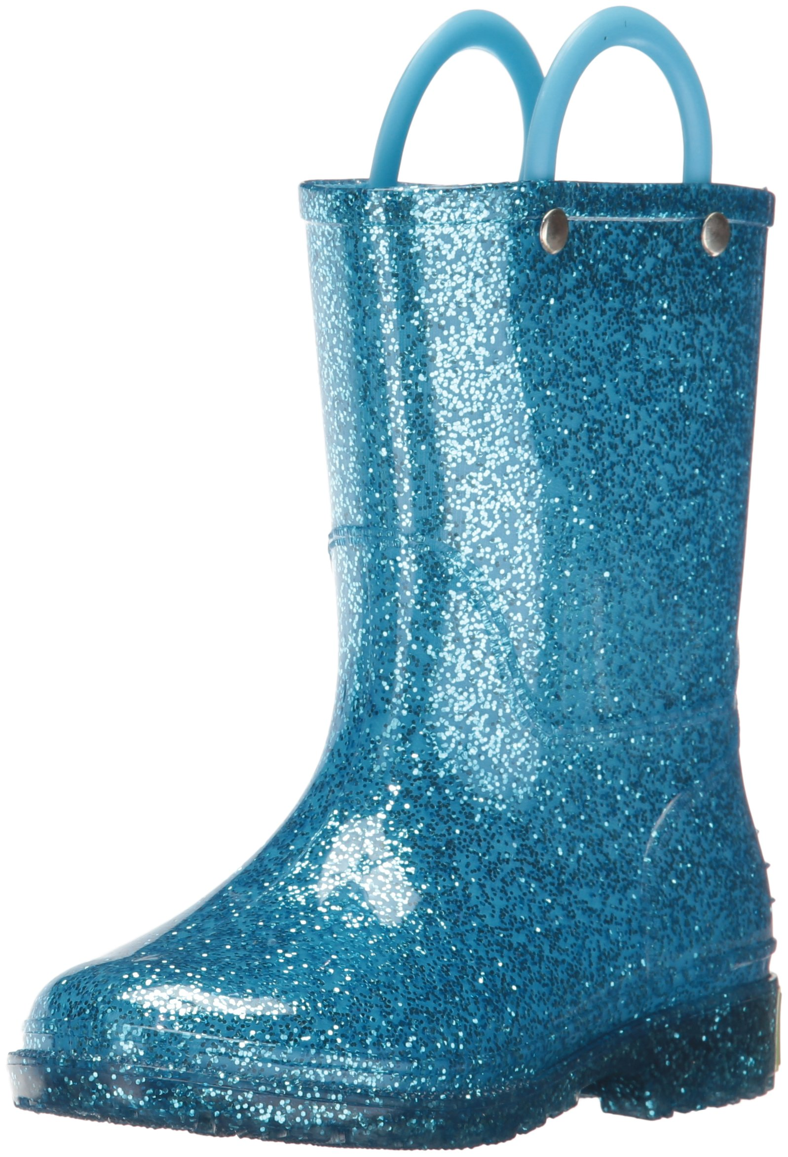 Western Chief Glitter Turquoise Toddler