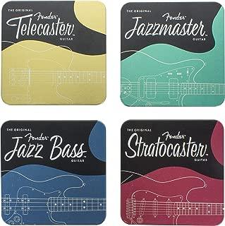 Paladone Fender Guitars Metal Drink Coasters