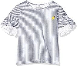 Cherokee Girls' Big Lemon Flutter Short Sleeve Graphic Tee
