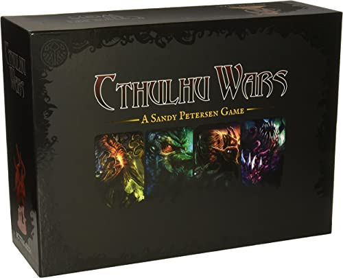 preferente Cthulhu Wars - - - Board Game - English  bienvenido a orden