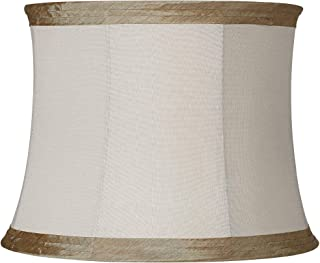 threshold linen overlay lamp shade