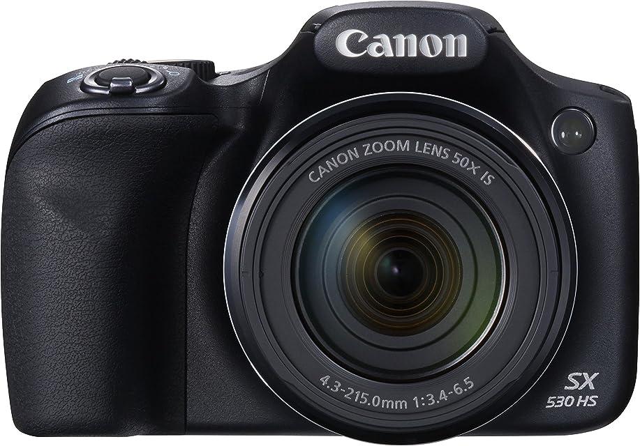 Canon PowerShot SX530 HS - Cámara compacta de 16 MP (Pantalla de 3 Zoom óptico 50x estabilizador óptico Video Full HD) Negro