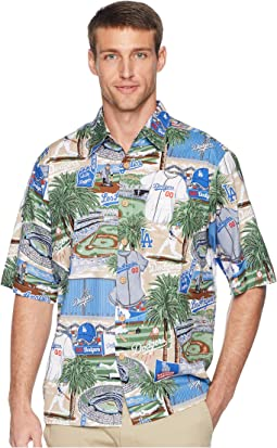 Los Angeles Dodgers Classic Fit Hawaiian Shirt